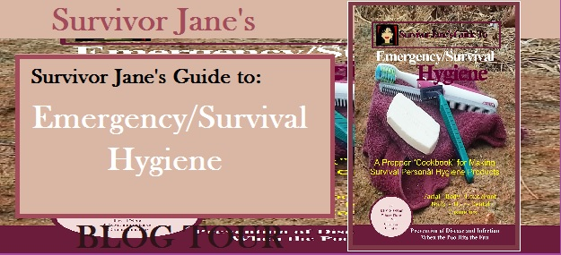 emergency survival hygiene blog tour banner